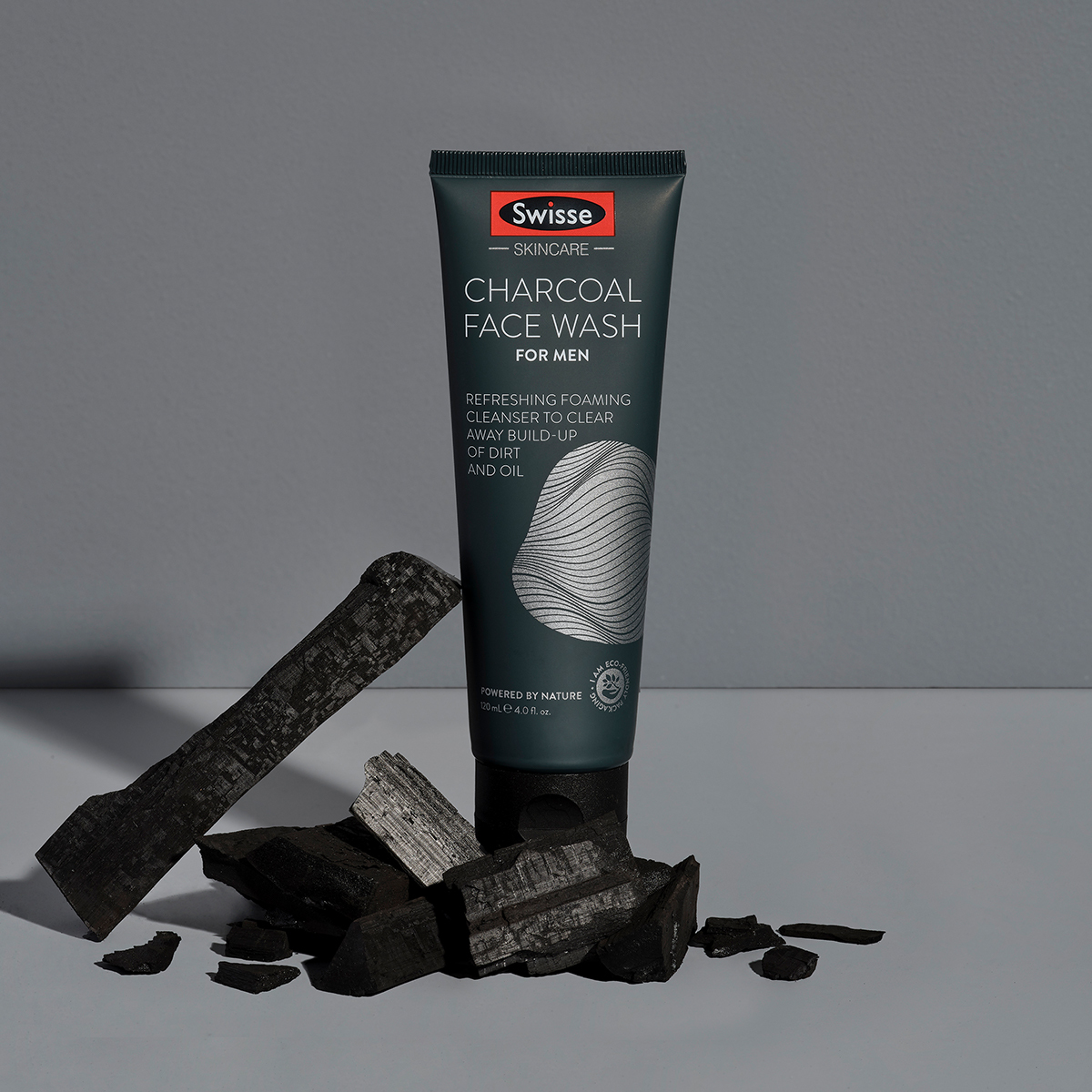 Mens Charcoal Face Wash Lifestyle