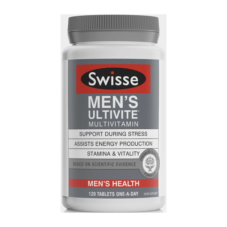 Swisse Mens Ultivite product image 120 tabs