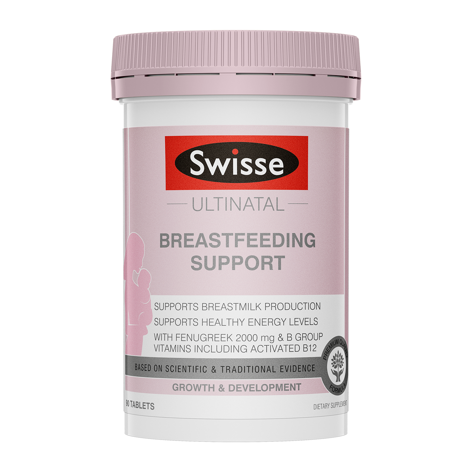Swisse Ultinatal Breastfeeding support product 90 tabs product image