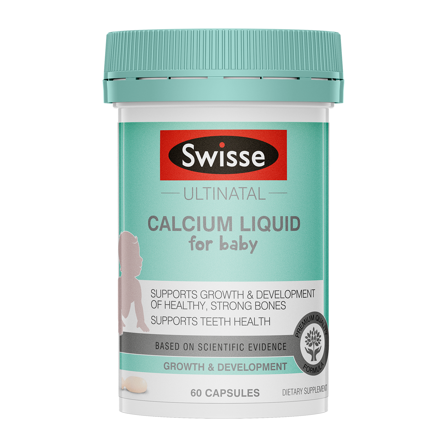 Swisse Ultinatal Calcium Liquid infant product 60 tabs product image