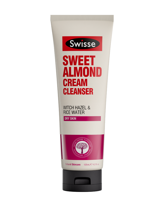 Swisse skincare face sweet almond cream cleanser