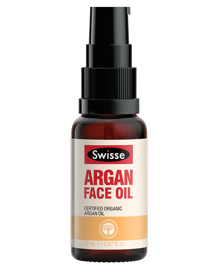 Swisse skincare oils argan face Oil