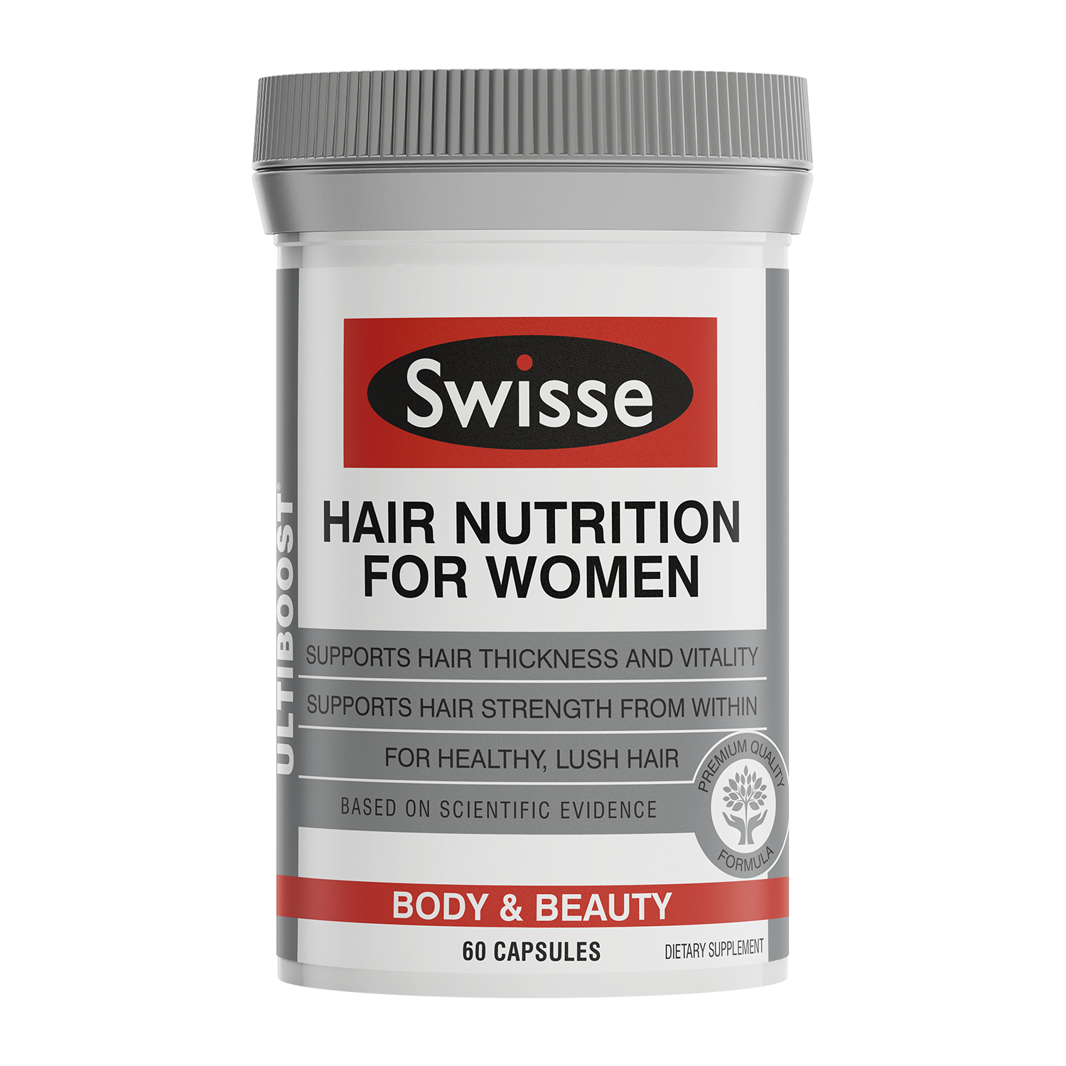 Swisse ultiboost Hair Nutrition for Women 60 caps