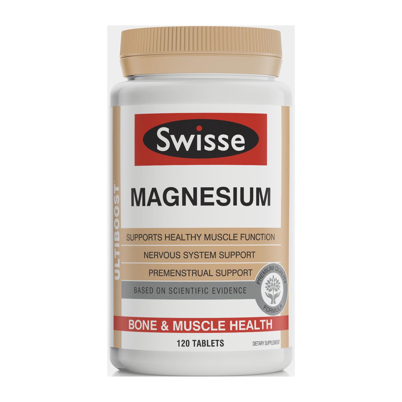 Swisse ultiboost Magnesium product 120 tabs