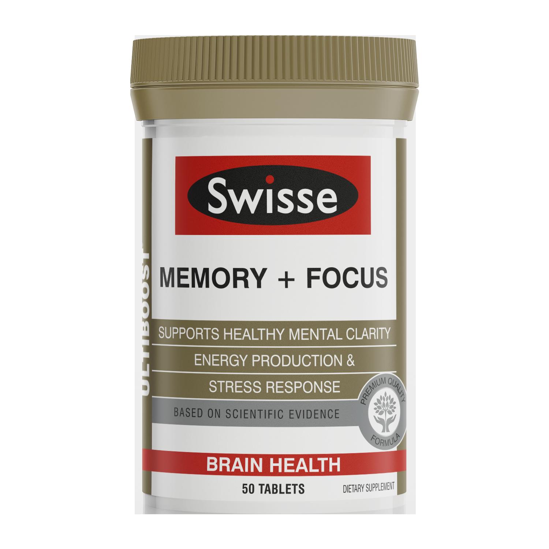 Swisse ultiboost Memory Focus 50 tabs
