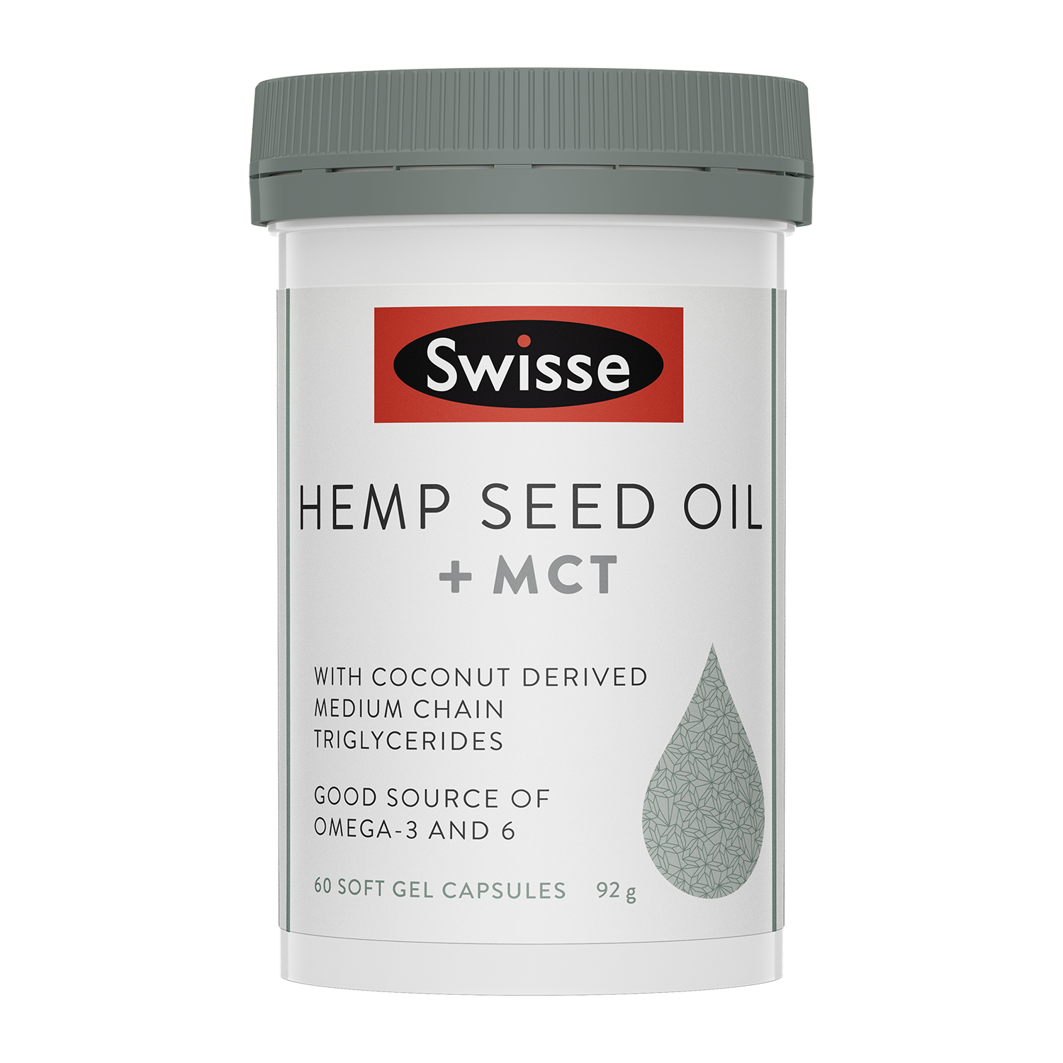 Hemp Seed Oil + MCT 60 caps