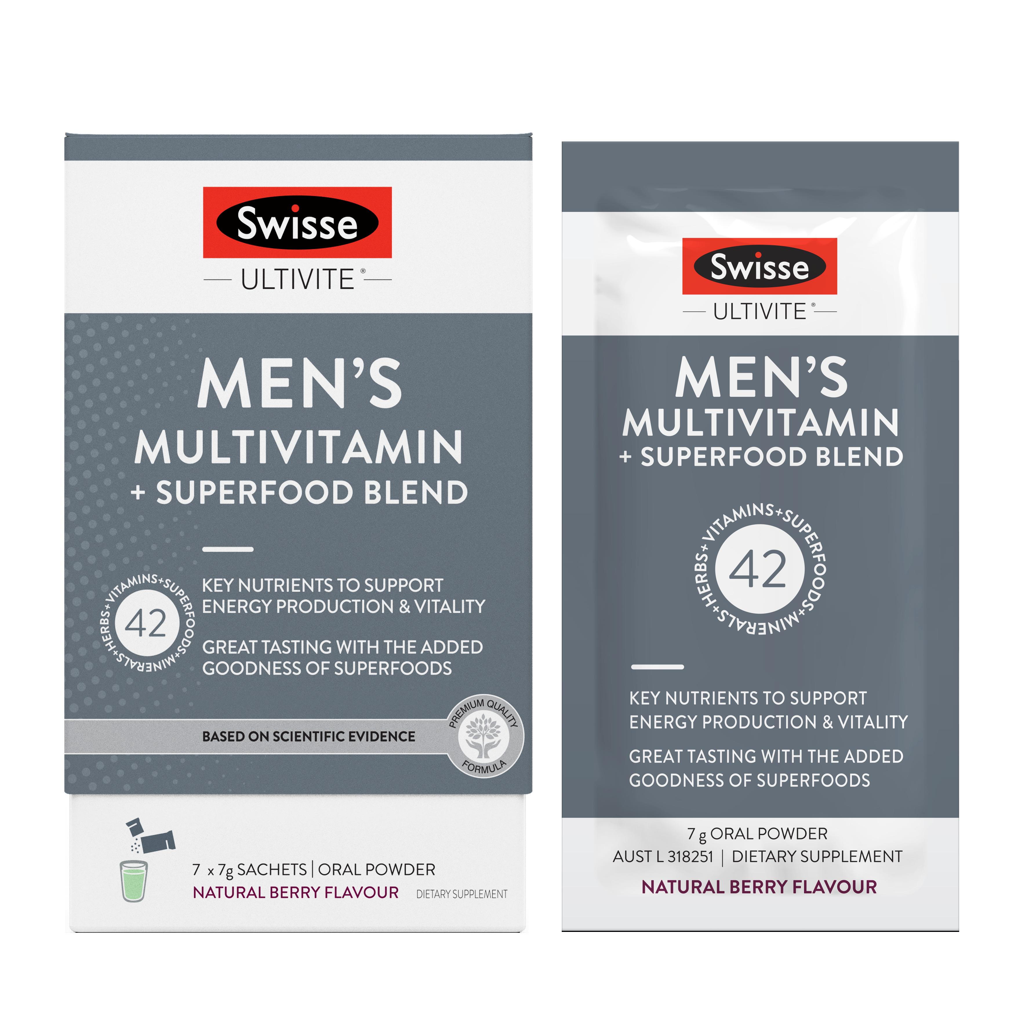 Mens Wellness Blend 7 sachet