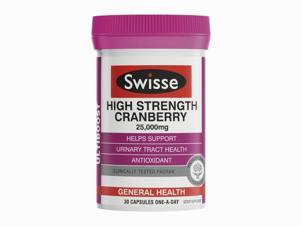 Swisse ultiboost High Strength Cranberry 30 caps product image