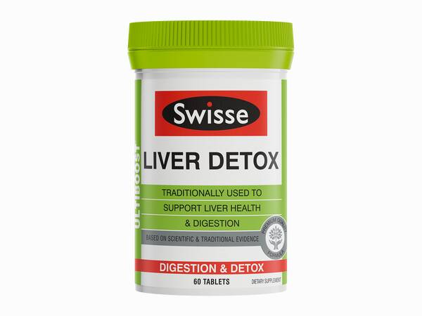 Swisse Ultiboost Liver Detox product 60 tabs product image