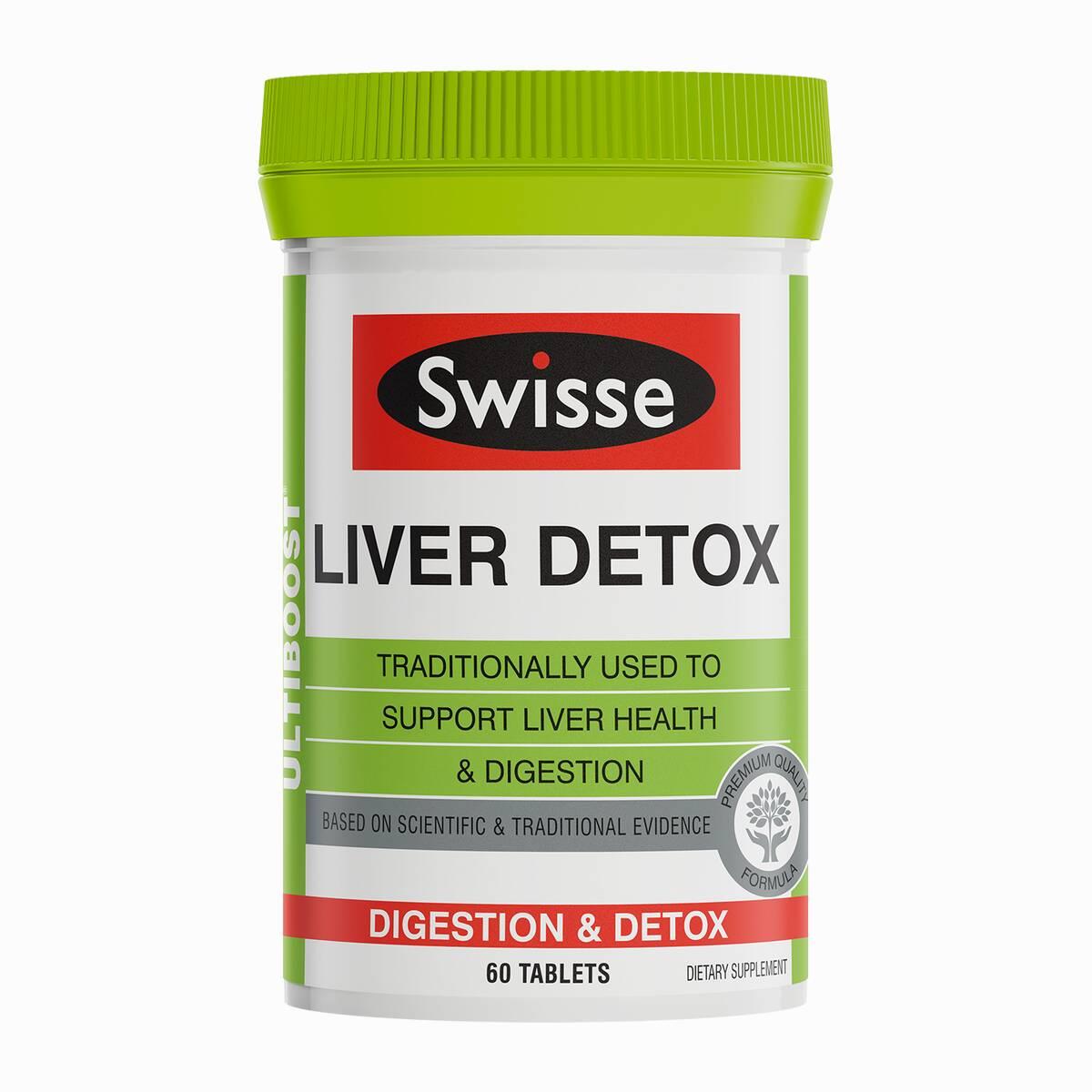 Swisse Ultiboost Liver Detox product 60 tabs product image