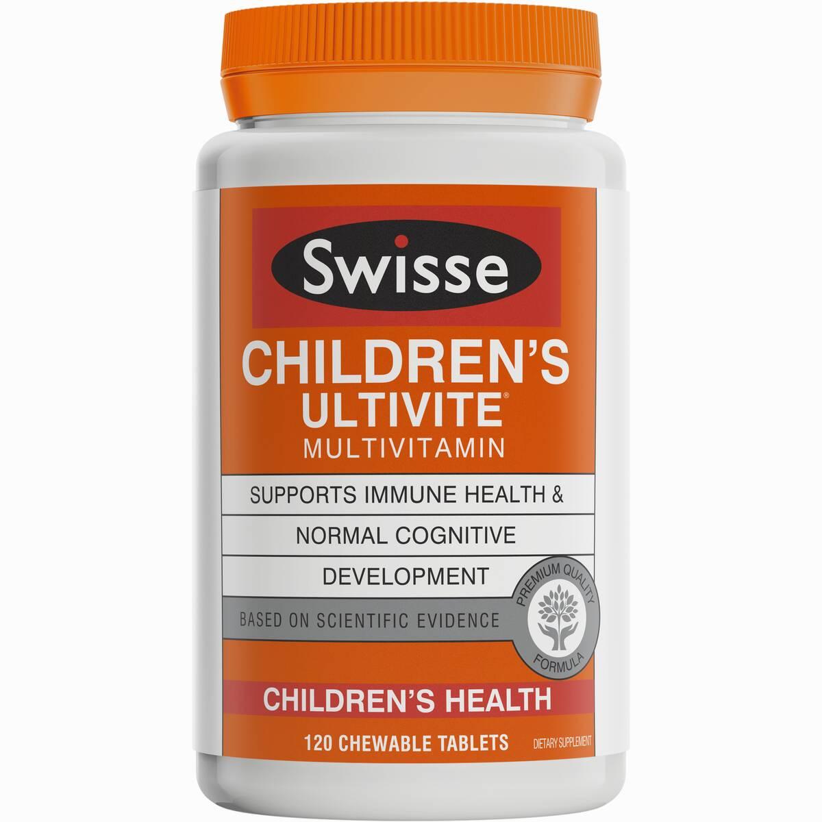 Swisse Childrens Ultivite 120 T
