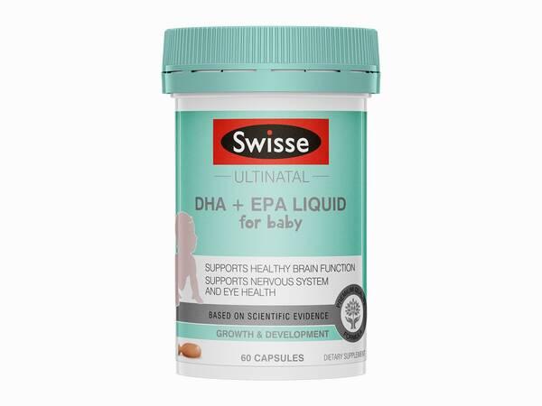 Swisse Ultinatal DHA EPA infant product 60 tabs product image