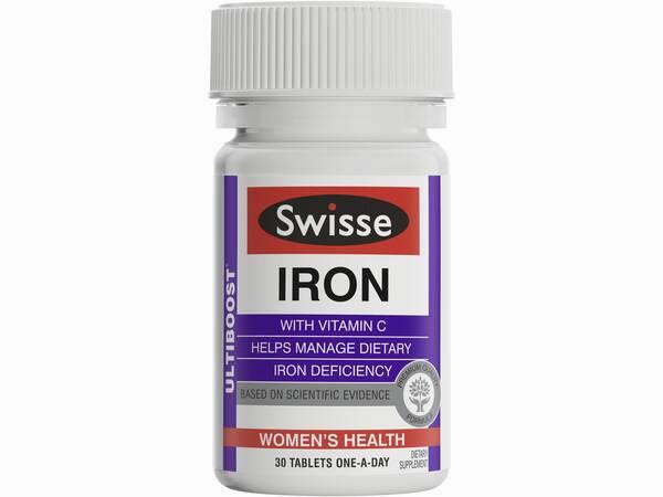Swisse ultiboost iron 30 tabs product image