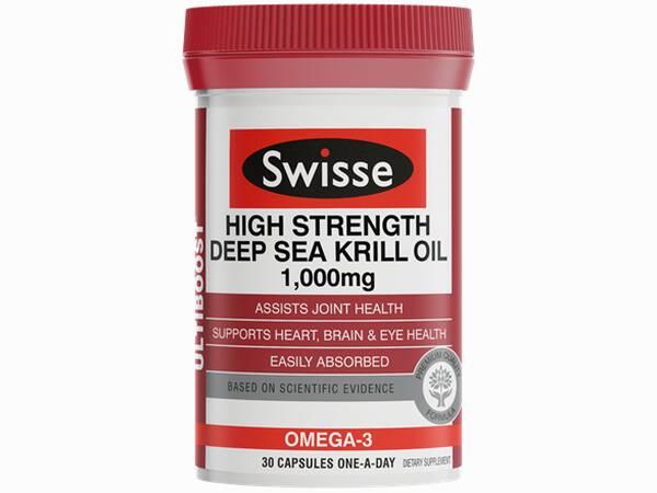 Swisse Ultiboost High Strength Deep Sea Krill Oil  30 caps