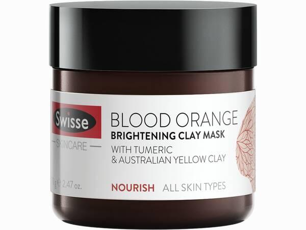 wisse skincare face blood orange face mask