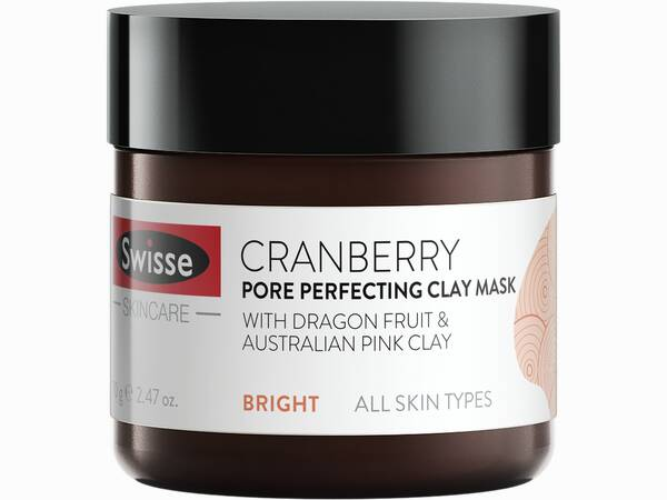 Swisse skincare face cranberry face mask