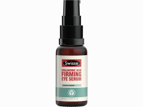Swisse skincare serums Hyaluronic Acid Eye Serum Pump product shot
