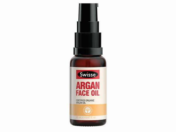 Swisse skincare oils argan face Oil